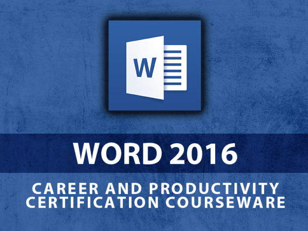 Microsoft Word 2016 course image